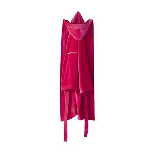 PEIGNOIR NAF NAF Peignoir avec capuche en velours 100% coto