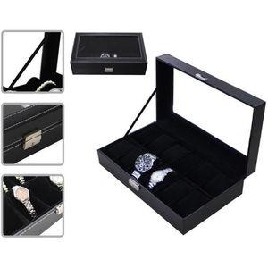 BOITE A MONTRE Coffret à Montres, Boite pour Montres et Bracelets