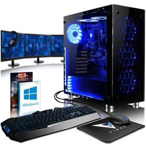 UNITÉ CENTRALE + ÉCRAN VIBOX Nebula RS770-109 PC Gamer Ordinateur avec Je