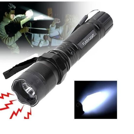 Taser Shocker Lampe Elctrique 1 000 000 Vol Rechargeable Torche