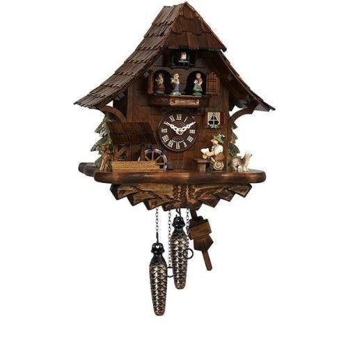 horloge coucou avec musique danse couple toit 35cm achat vente