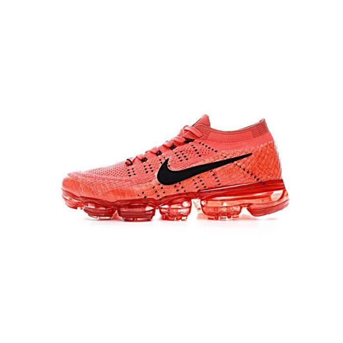 Nike Air Running Vapormax Flyknit Chaussure De Running Air Pour Homme Orange ef5a55