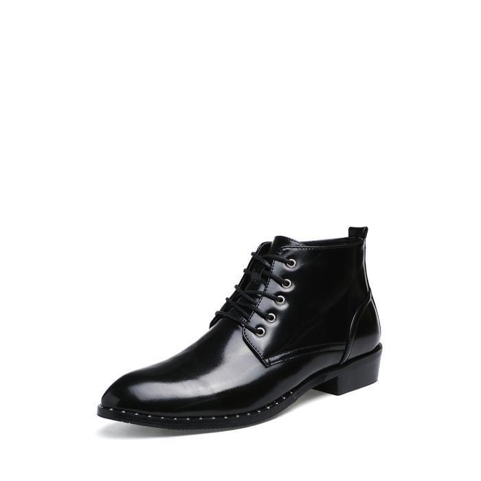 Chaussures pour homme Vintage Croisement de haute qualité Chaussures Handsome de Derby 7773362