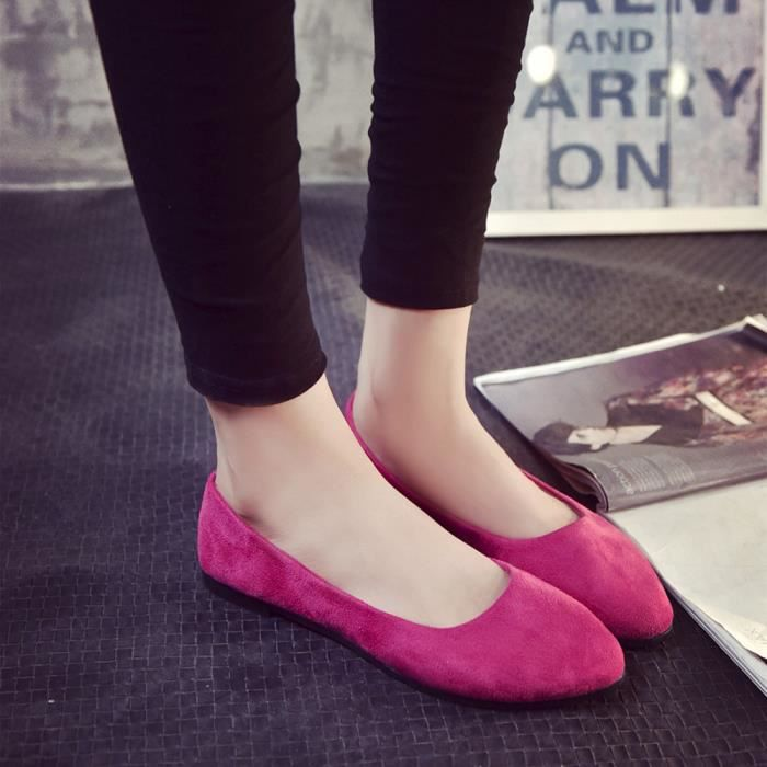 SLIP-ON Chaussures@ Femmes occasionnelles OL chaussure pla