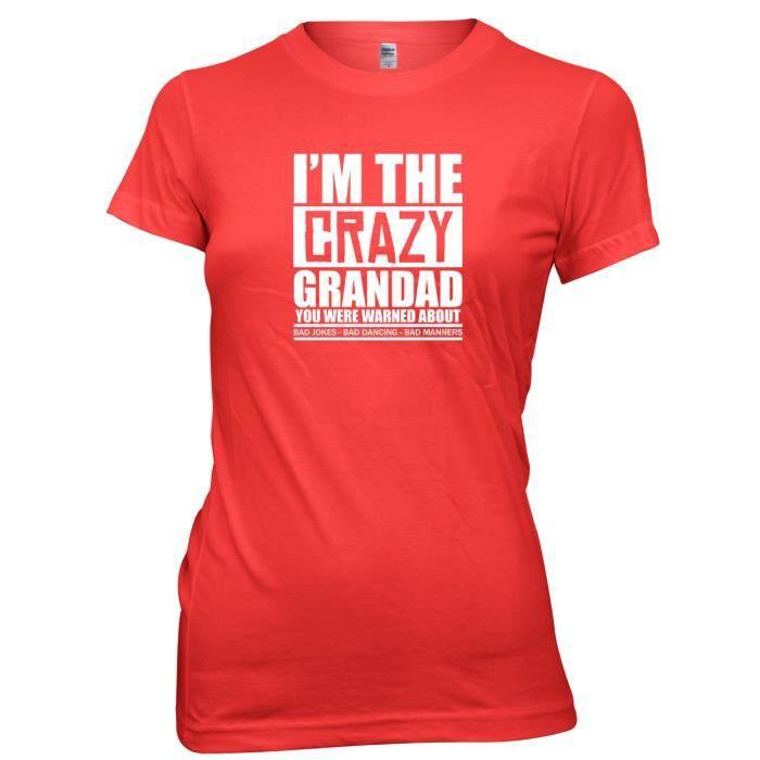 Daytripper Granbdad Suis A Le Vous Qui Rouge Je Garde En Mis T shirt Fou Imprimé 0xgr0I