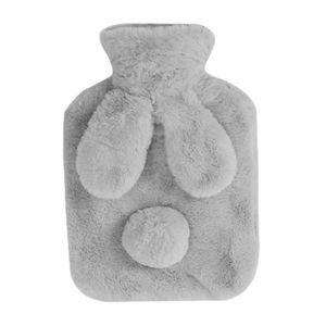 BOUILLOTTE BÉBÉ Gris Foncé Lapin 0.8 litre Bouillotte d'eau chaude