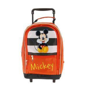 SAC À DOS Sac à dos à roulettes maternelle Mickey aille Uniq