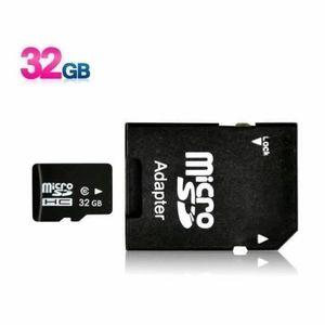CARTE MÉMOIRE Micro carte SD avec adaptateur carte SD 32Go smart