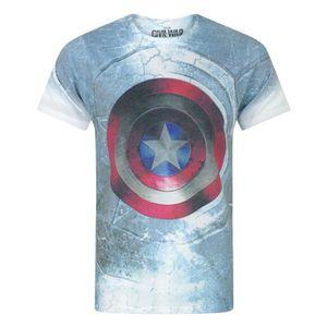 5c164cb9d53 T-SHIRT Vanilla Underground Captain America Civil War Shie