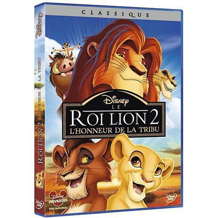 DVD DESSIN ANIMÉ DVD Le roi lion 2 : l'honneur de la tribu