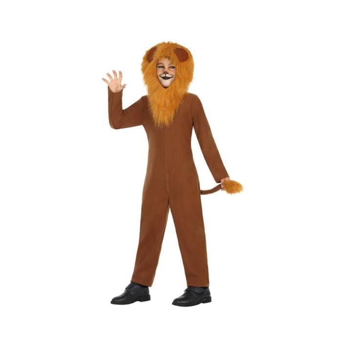 ATOSA Déguisement Lion - Panoplie Enfant