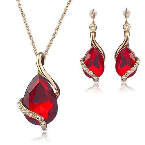 Femmes Spiritueux Balançoires en cristal et Zircon clouté 18k or jaune en alliage bijouxPML09
