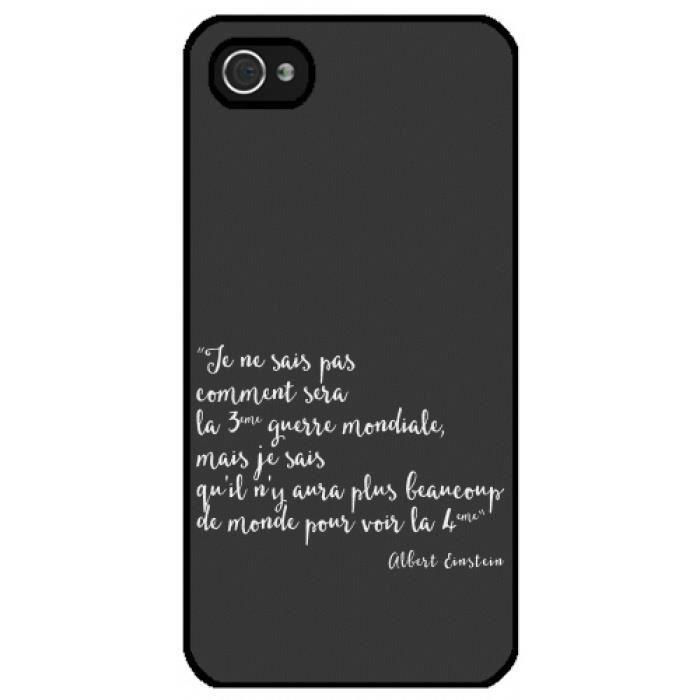Coque Iphone C Phrase