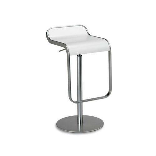 tabouret de bar lapalma lem bois blanc laqu de 55 67 cm achat vente tabouret de bar. Black Bedroom Furniture Sets. Home Design Ideas