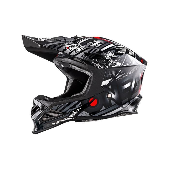 Casque Motocross Oneal 2018 8series Synthy Noir