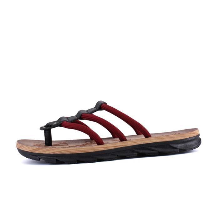Les jeunes Respirant Chaussures Sandales imperméables pour homme P0KkXTFaKE