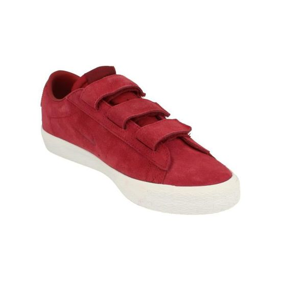 reputable site 0dd66 2b6e4 Nike Sb Zoom Blazer Low Ac QS Hommes Trainers 921739 Sneakers Chaussures  661 Rouge Rouge - Achat   Vente basket - Cdiscount