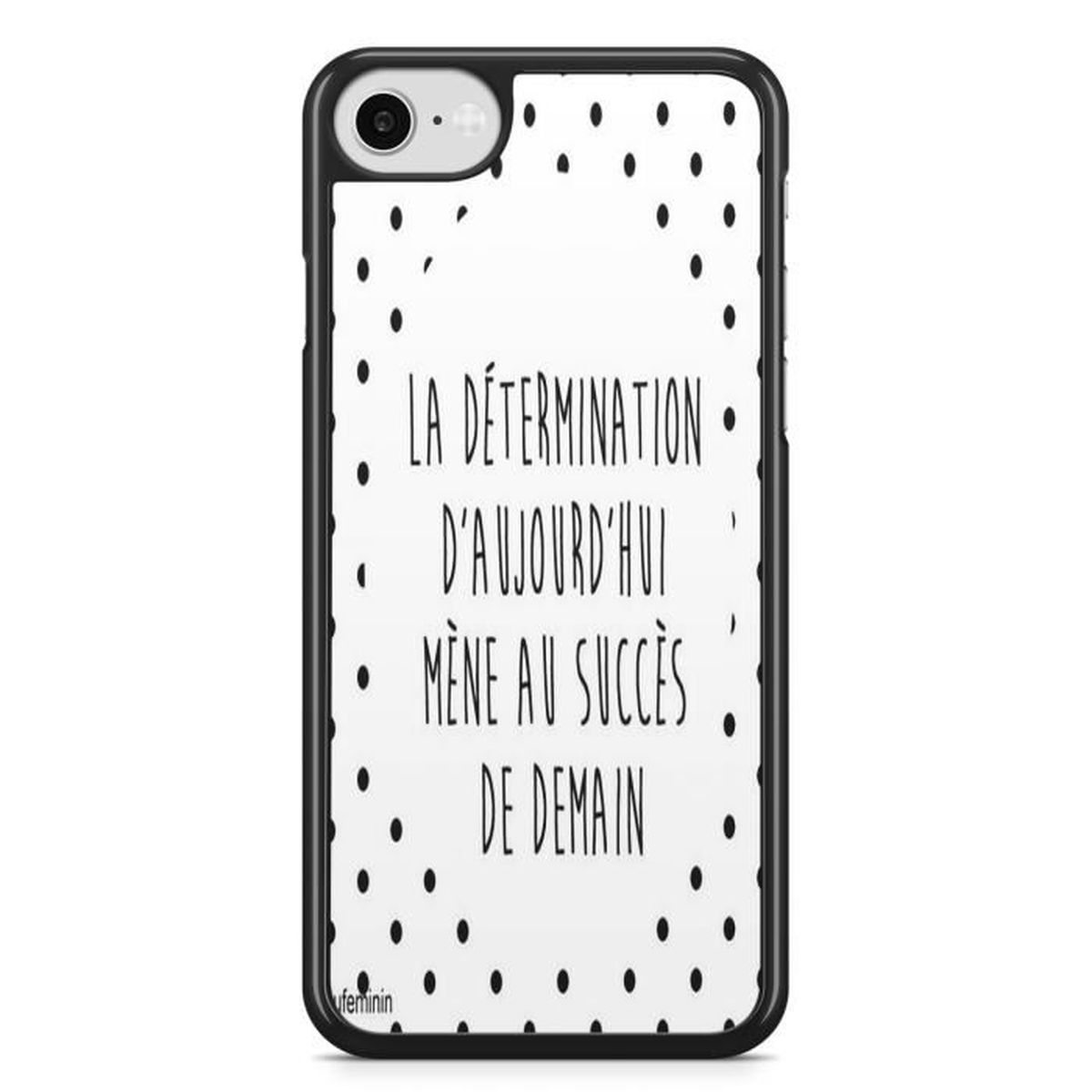 coque iphone 8 phrase drole fille