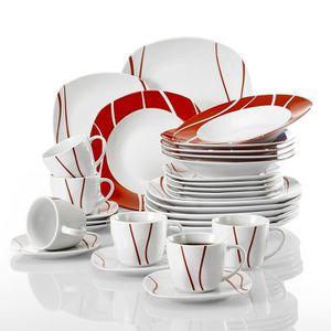 Assiettes achat vente assiettes pas cher black friday le 24 11 cdiscount - Service vaisselle pas cher ...