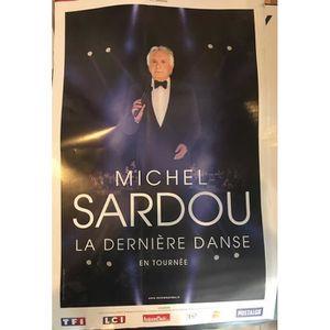 AFFICHE - POSTER Michel SARDOU - La dernière Danse - 80x120cm - AFF