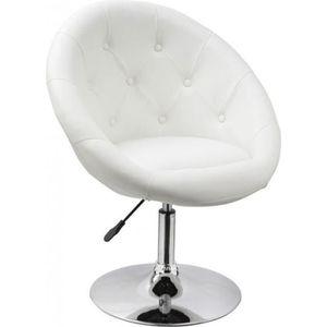 Fauteuil Design Blanc Achat Vente Fauteuil Design Blanc Pas Cher - Achat fauteuil design