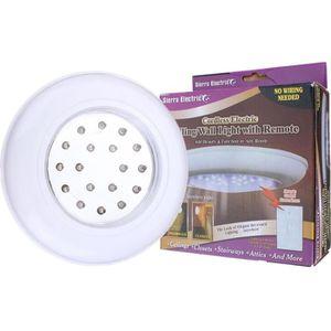AMPOULE - LED Plafonnier Avec Télécommande 18 LED Lampe de Plafo