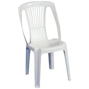 Chaise de jardin Plastique - résine - Achat / Vente Chaise de ...