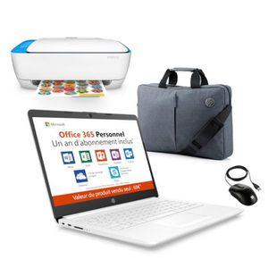 "ORDINATEUR PORTABLE HP PC Portable 14"" - AMD A4 - RAM 4Go - Stockage 3"