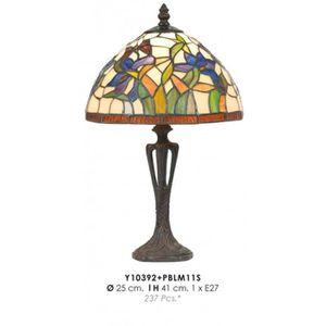 LAMPE A POSER Tiffany Lampe de table Diamètre 25cm, hauteur 41cm