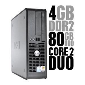 UNITÉ CENTRALE  Ordinateur de bureau Dell Optiplex 755