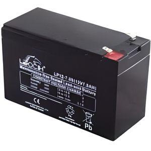 BATTERIE VÉHICULE Batterie Plomb 12V 7A LEOCH pour banc de démarrage