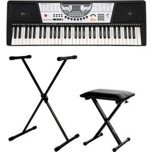 PACK PIANO - CLAVIER McGrey BK-6100 synthétiseur SET y le trépied et le