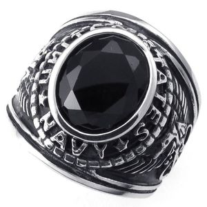 Bague homme us navy military