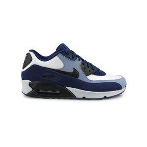 1b2ad5095b27e BASKET Basket Nike Air Max 90 Leather Bleu 302519-400