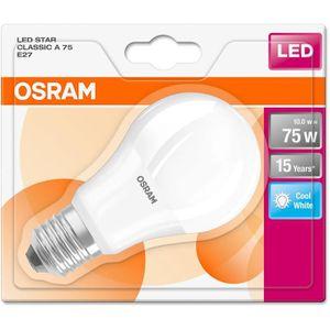 AMPOULE - LED OSRAM Ampoule LED E27 10 W équivalent à 75 W blanc