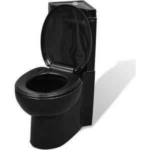 CUVETTE WC SEULE WC Cuvette céramique Noir