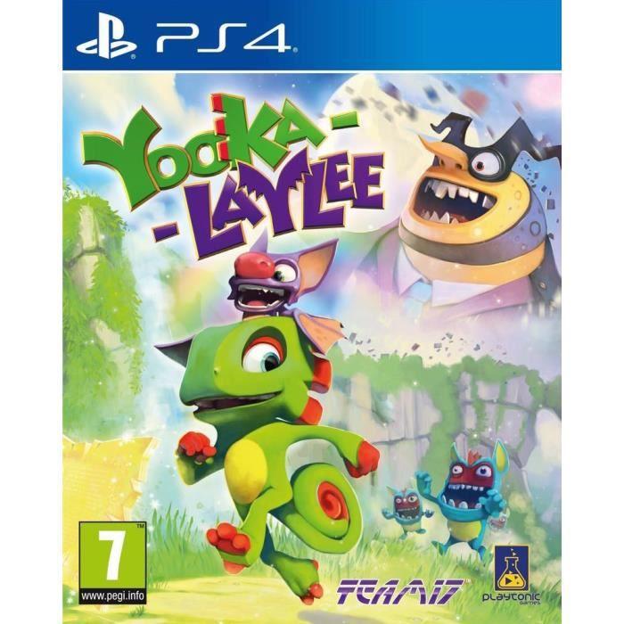 JEU PS4 Yooka-Laylee Jeu PS4