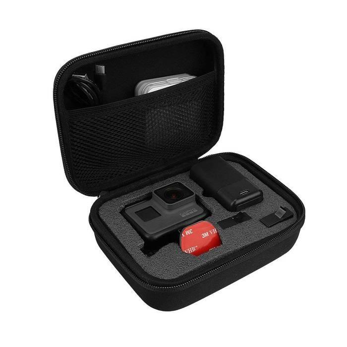 5a66167fbc Portable Mini Sac Poche étui de transport PU Boîte de rangement pour ...
