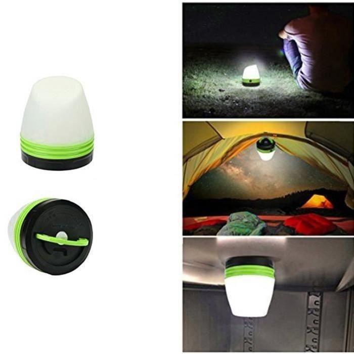Lanterne Portable Lumière Aimant De Vert Randonnée Tente Camping Extérieur Secours Led Lampe 5jALR34