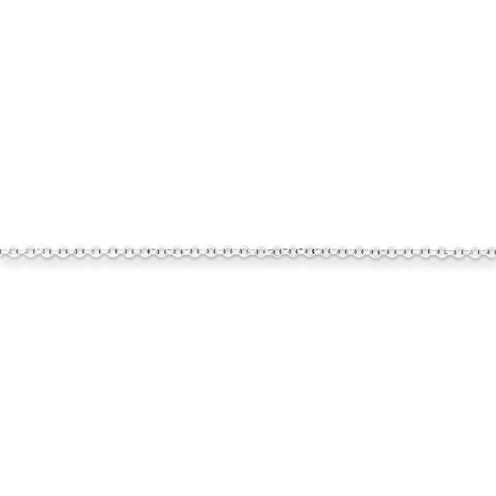 Argent 925/1000 1,5 mm 8 Diamond-Coupe-Chaîne 18