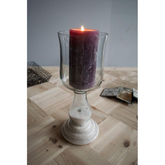 photophore verre sur pied achat vente photophore verre sur pied pas cher soldes d s le 10. Black Bedroom Furniture Sets. Home Design Ideas