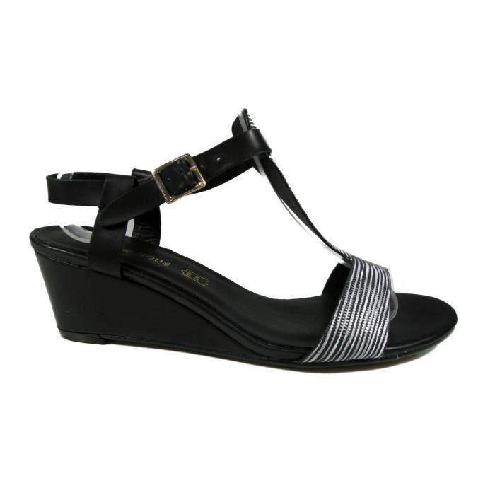 Sandales compensées Femme ELUE PAR NOUS - TOCGIRL