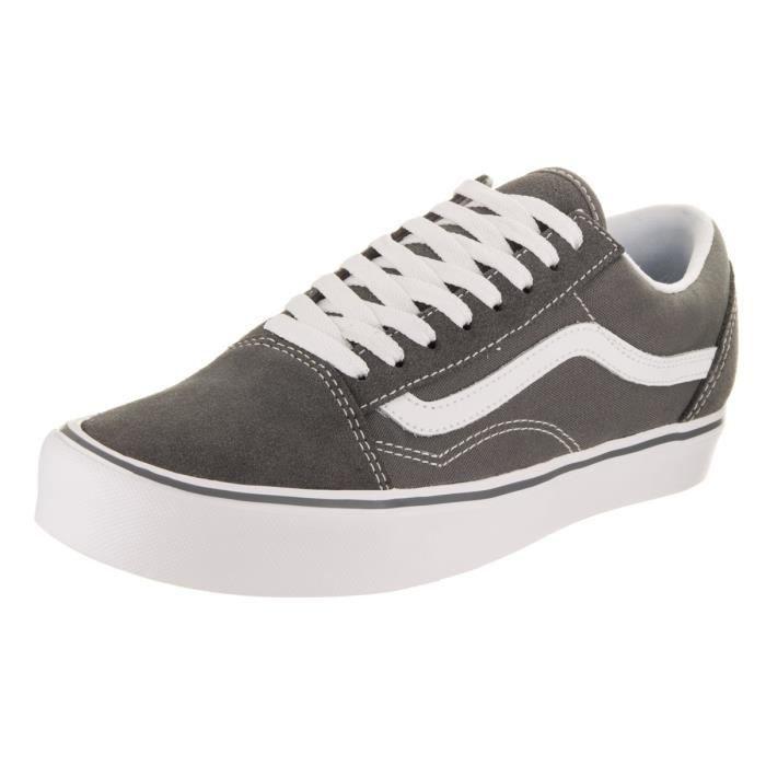 Vans Unisexe Old Skool Lite (suède - toile) Skate Shoe HE5H3 Taille-37 1-2