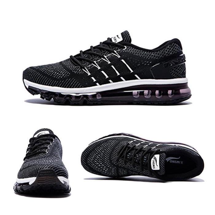 ONEMIX chaussures de course pour hommes Cool Light Sneakers sport respirant  pour la marche de jogging en plein air 479e1a0c22a