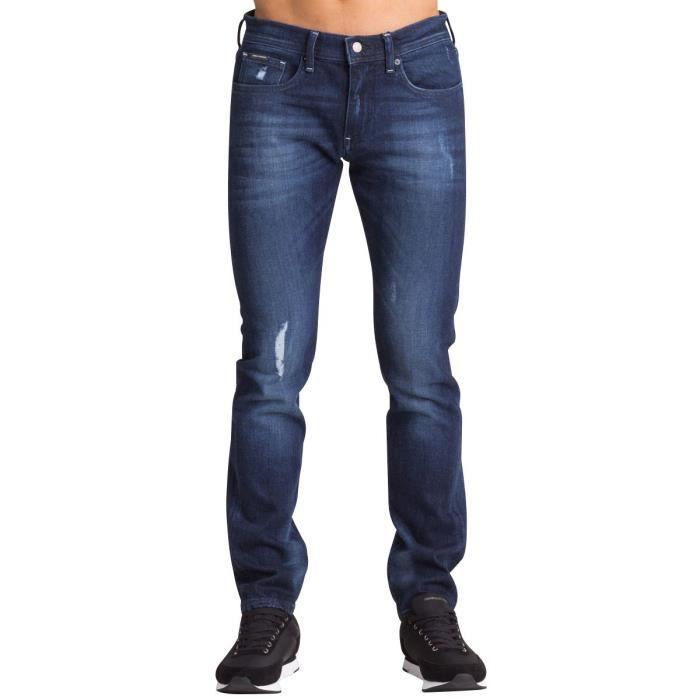 081bb2fe6740 Jean Slim Hommes ARMANI EXCHAN Bleu Bleu - Achat   Vente jeans ...