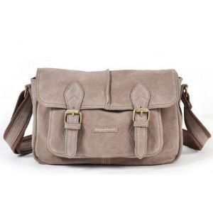 5d1103f131 Sac besace rabat Paquetage SERGE Taupe Marron - Achat / Vente besace ...