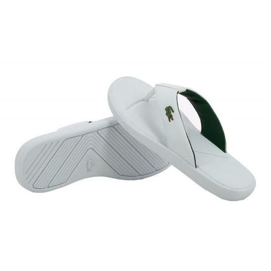 f795ab755a Sandale Lacoste L.30 - 731SPM0021001 Blanc - Achat / Vente sandale - nu- pieds - Cdiscount
