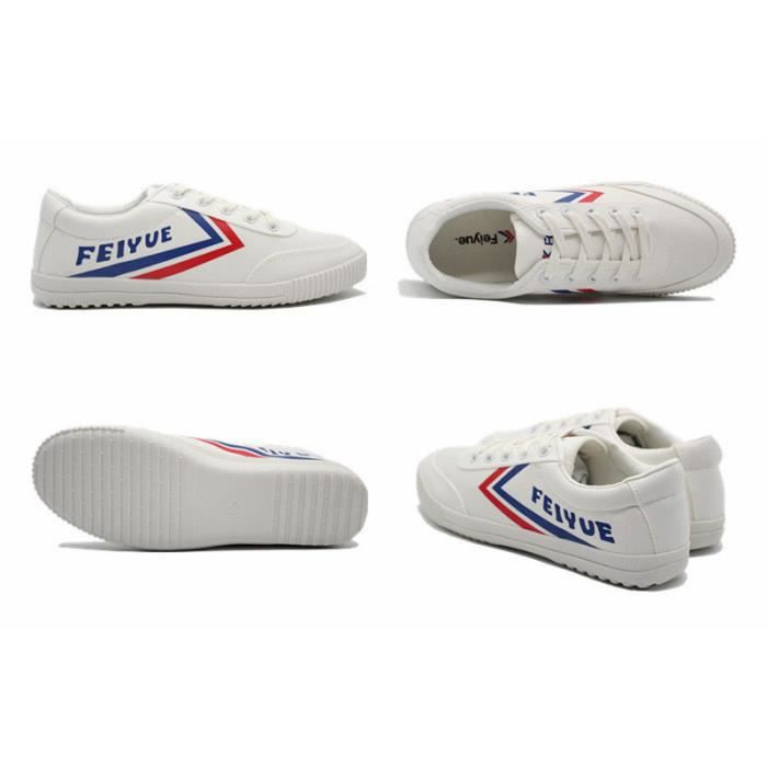 Baskets Blanc Chaussures de sport Toile Classique Chaussures soov2WTeoe