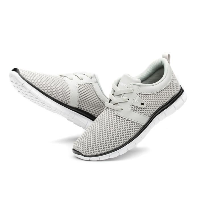 marque mocassin de Grande Antidérapant homme Respirant luxe Durable luxury sneaker chaussures hommes Taille Confortable chaussure RqWOwFvTP