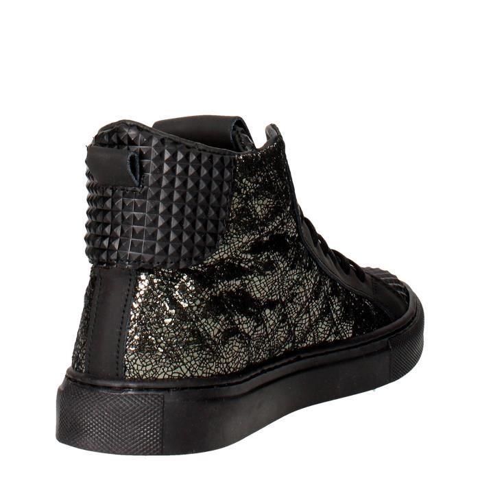 D.a.t.e. Sneakers Femme Noir, 40